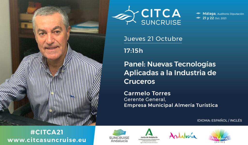CARMELO TORRES Congreso Turismo Cruceros