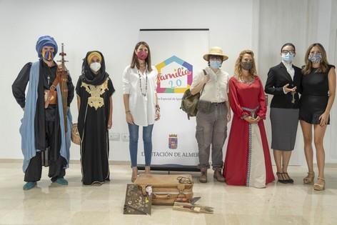 Carmen Belen López Zapata Diputada Delegada Especial de Igualdad y Familia Presenta el programa de visitas teatralizadas