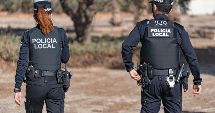 Policia Local Almería chalecos