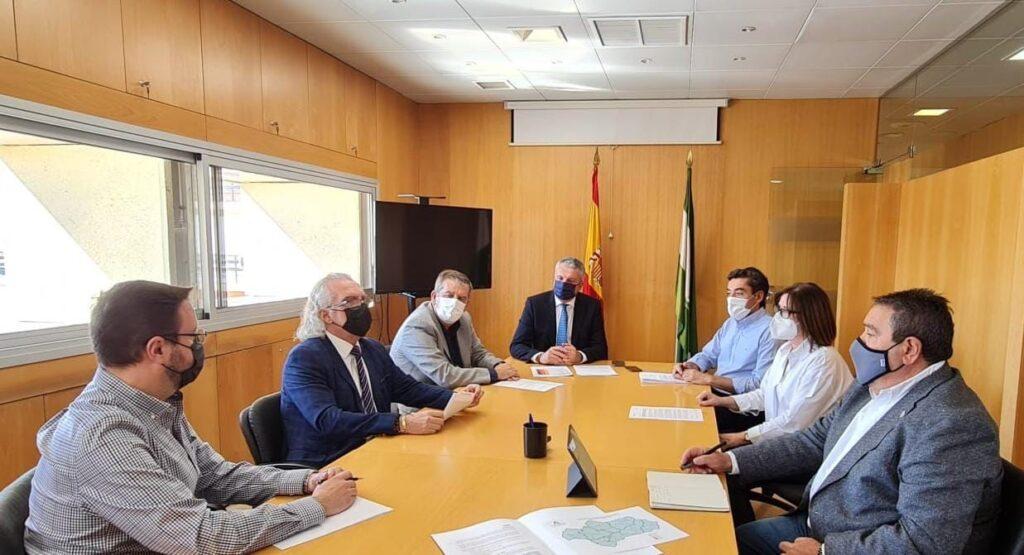 Reunión comité salud pública Almería