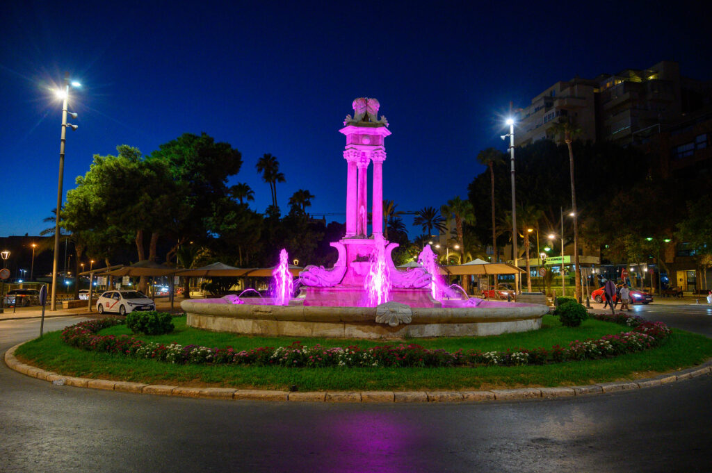 fuentes y edificios rosa cancer mama0000